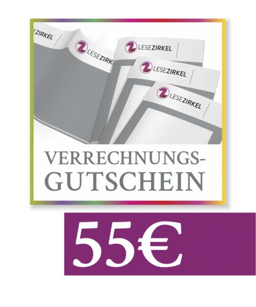 Verrechnungsgutschein 55€