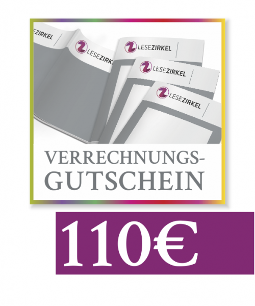 Verrechnungsgutschein 110 €